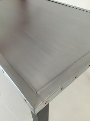Zinc top coffee table 60x90
