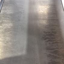 Rain weathered zinc