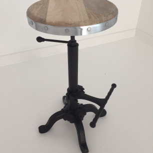 bar-stool zinc